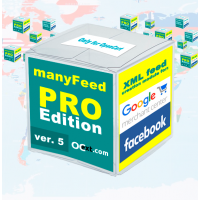 Google Merchant фид – модуль manyFeed PRO 5-ой версии – создание фида для Google Merchant Center, фида для Facebook, продуктового фида для Инстаграм